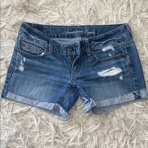 American Eagle jeans shorts size 0